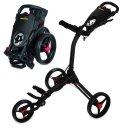 Bag Boy C3 3-Rad Trolley schwarz/rot