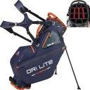 Big Max Dri Lite Hybrid Tour Standbag navy/orange