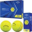 Callaway ERC Soft Triple Track Golfball 3er gelb