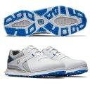 Footjoy Pro SL Herren Golfschuh weiss/grau/blau