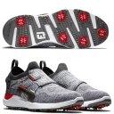 Footjoy Hyperflex BOA Herren Golfschuh grau/rot