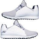 Skechers Go Golf Mojo Elite Herrengolfschuh weiss/grau