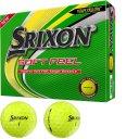 Srixon Soft Feel Golfball 12er gelb