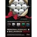 Titleist 12er personalisierter Ball AVX