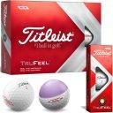 Titleist TruFeel 12er Pack weiss