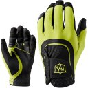 Wilson Staff Fit All Handschuh Herren schwarz/lime
