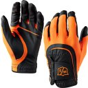 Wilson Staff Fit All Handschuh Herren schwarz/orange