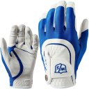 Wilson Staff Fit All Handschuh Herren weiss/blau