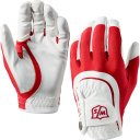 Wilson Staff Fit All Handschuh Herren weiss/rot