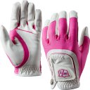 Wilson Staff Fit All Damen Handschuh weiss/pink