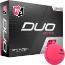 Wilson Staff DUO optix 12er matt pink