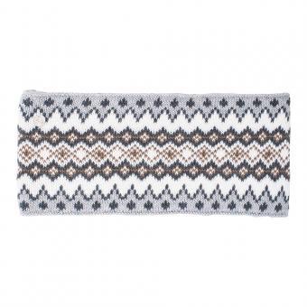 abacus Golf Carola Damen Stirnband weiss/grau - 1 weiss/grau | One Size