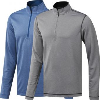 adidas Golf Herren 1/4 Zip Sweater UV Protect