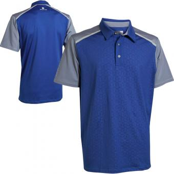 BackTee Golf Embossed UV Herren Polo (45202)
