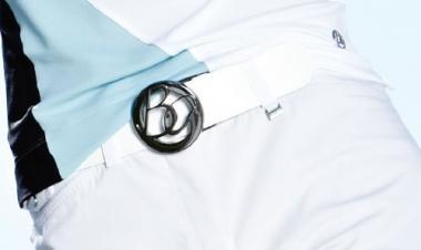 Brax Golf Damen Gürtel Leder WEISS 95