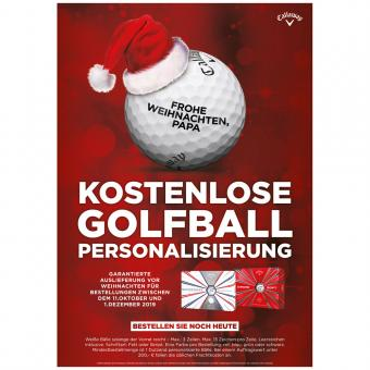 Callaway Weihnachtsangebot Chrome Soft / Supersoft 12er
