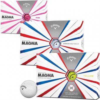 Callaway Supersoft Magna Golfball 12er weiss weiss