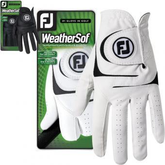Footjoy WeatherSof Herrengolfhandschuh Rechtshänder weiss L weiss | linke (Rechtshänder) | L