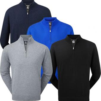 Footjoy Lambswool 1/2 Zip Pullover