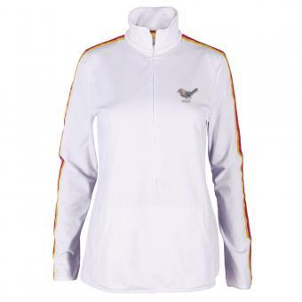 Girls Golf Stretch 1/2 Zip Sweater (14324)