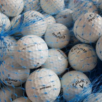 Lakeballs Callaway Warbird Grade AAA/AA 25er
