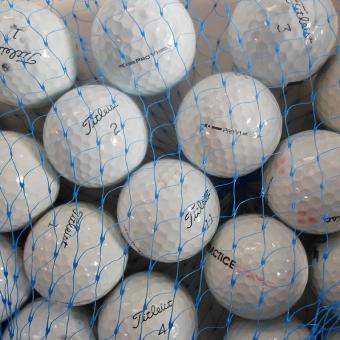 Lakeballs Titleist Pro V1/V1X  25er Netz Qualität AAA/AA