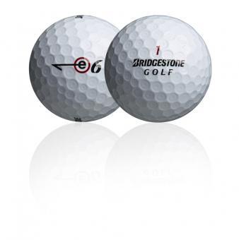 Golf und Günstig Lakeballs Bridgestone e6(+) 25er Netz Qualität AAA/AA