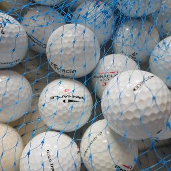 Golf und Günstig Lakeballs Pinnacle Mix 25er Netz Qualität AAA/AA
