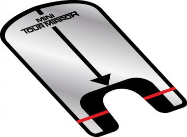 Golf und Günstig Mini Tour Mirror Putter Spiegel Ausrichtungshilfe