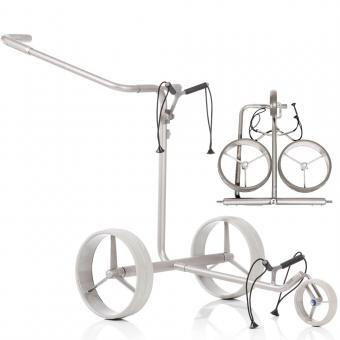 JuStar 3-Rad Trolley Silver