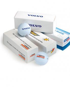 500 x 3er Ballschachtel ohne Golfbälle