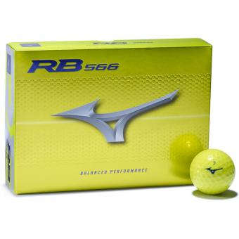 Mizuno RB 566 Golfball 12er gelb