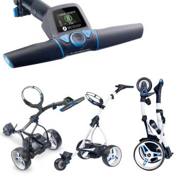 Motocaddy S3 Pro Elektrotrolley Lithium