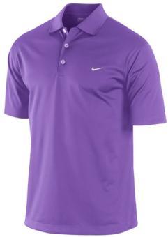 Nike UV Strech Tech Solid Herren Polo S violett