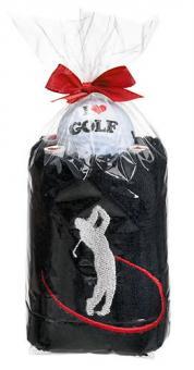 Sportiques Golfgeschenk Handtuch-Ball Drive