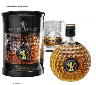 Sportiques Golfgeschenk Scotch Whisky
