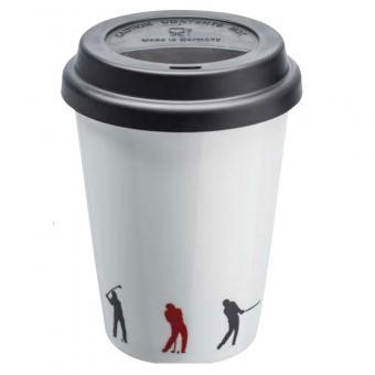Sportiques Golf Kaffeebecher to go