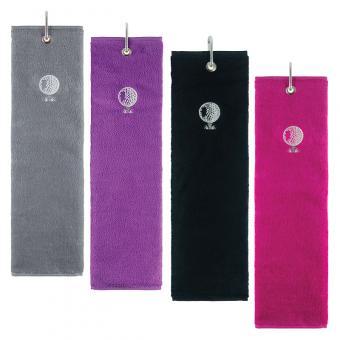 Golf und Günstig Ladies Tri Fold Golf Handtuch
