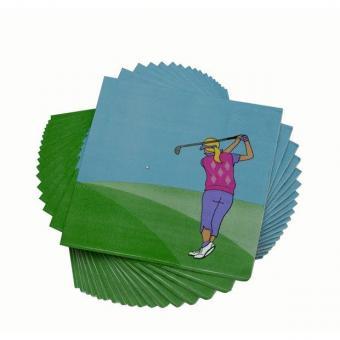 Golf und Günstig Ladies Golf Servietten