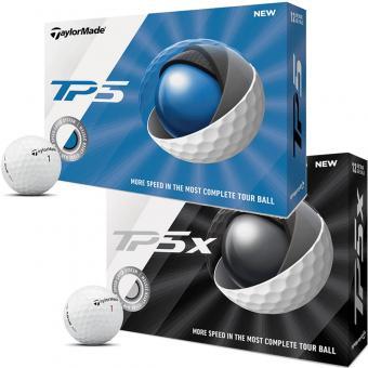 Taylor Made TP5x Golfball 3er weiss TP5x | weiss