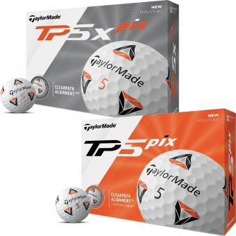 Taylor Made TP5 (x) pix Golfball 3er