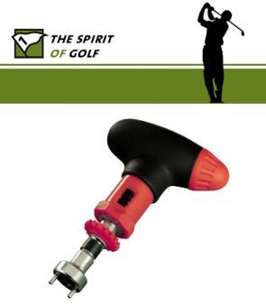 The Spirit of Golf Spikeschlüssel mit Ratschenfunktion
