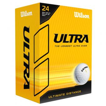 Wilson Golfbälle Ultra weiß 24er Pack