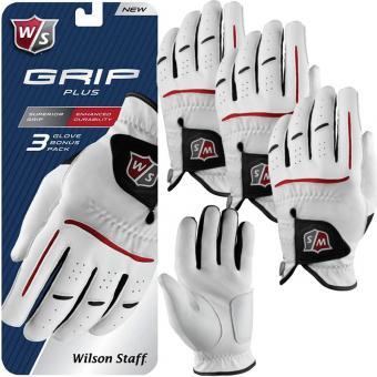 Wilson Staff Grip Plus Handschuh 3er Pack