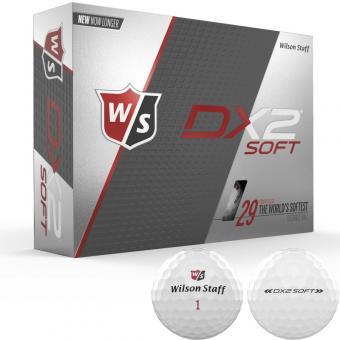 Wilson Staff Dx2 Soft 2019 Golfball 12er