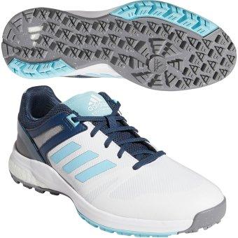 adidas Golf EQT SL spikeless Damenschuh weiss/blau 37 1/3