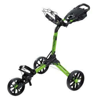 Bag Boy Nitron 3-Rad Trolley lime/schwarz 1