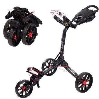 Bag Boy Nitron 3-Rad Trolley schwarz/rot 1