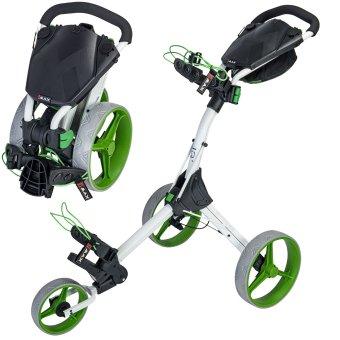 Big Max IQ Plus 3 Rad Trolley weiss/lime 1