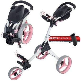 Big Max IQ Plus 3 Rad Trolley weiss/pink 1